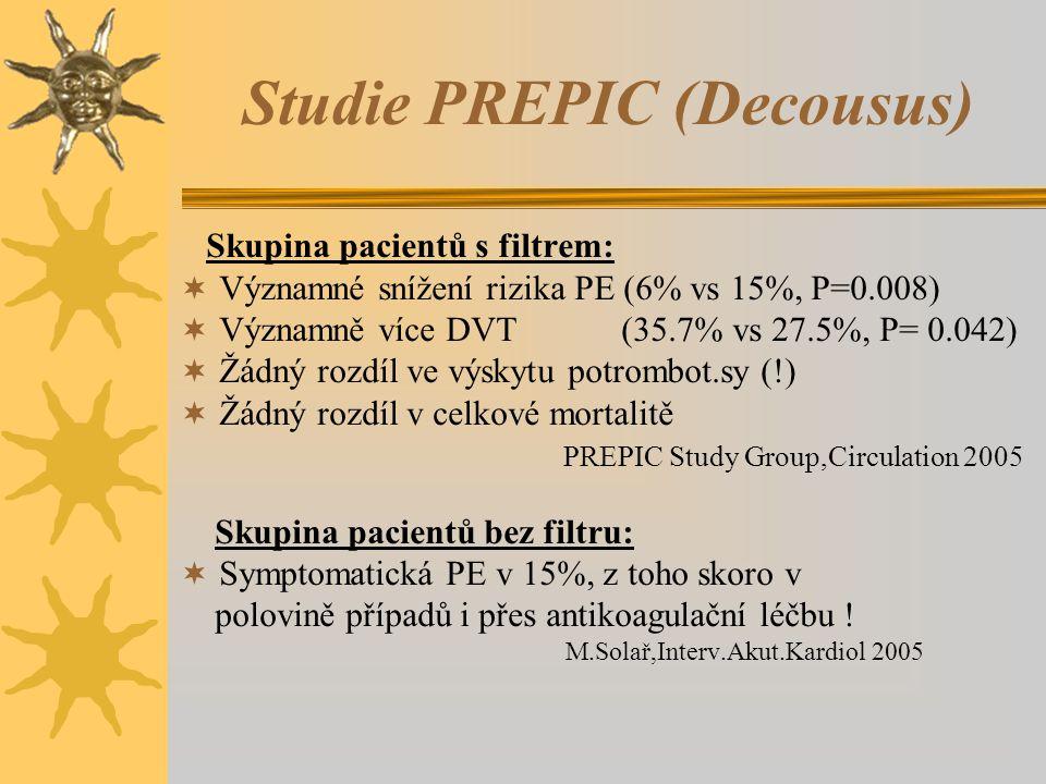 Studie PREPIC (Decousus)