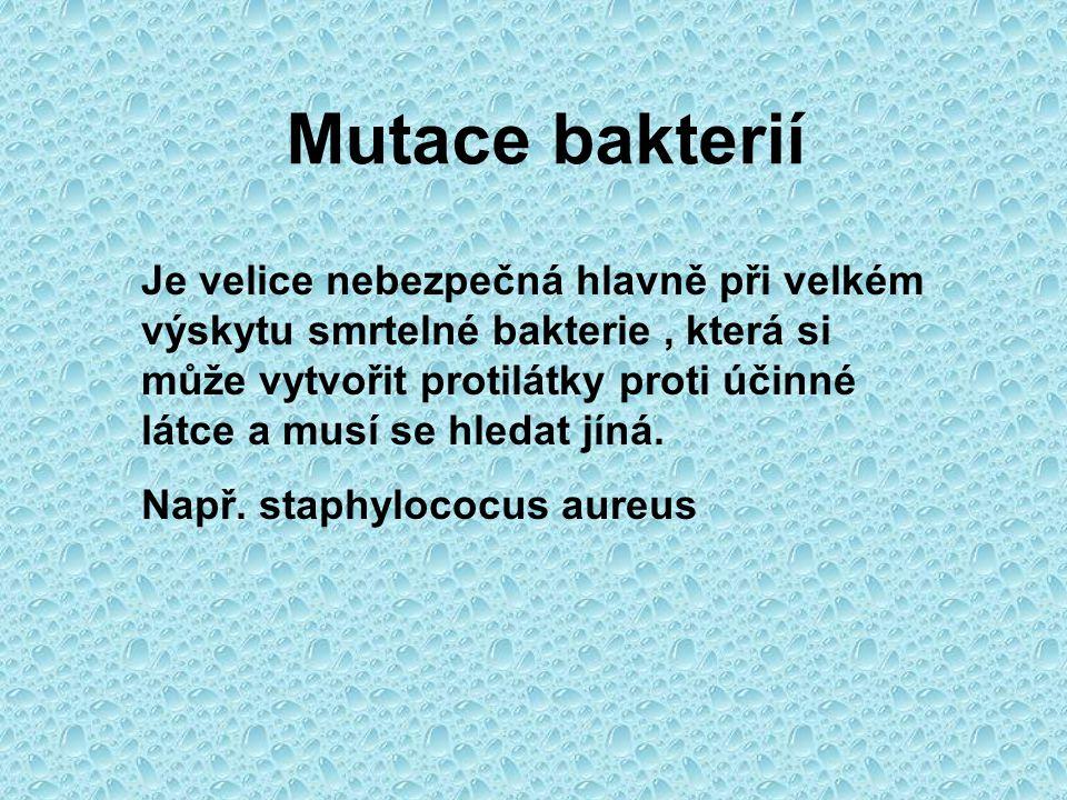Mutace bakterií