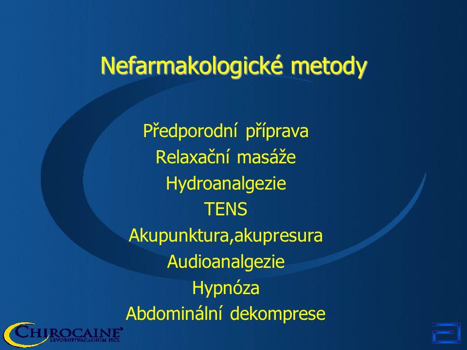 Nefarmakologické metody