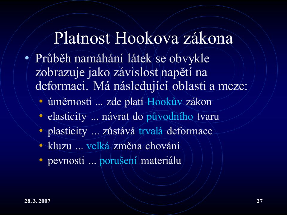 Platnost Hookova zákona