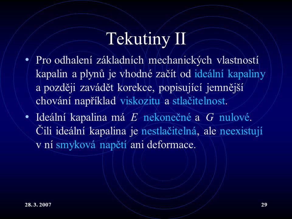 Tekutiny II