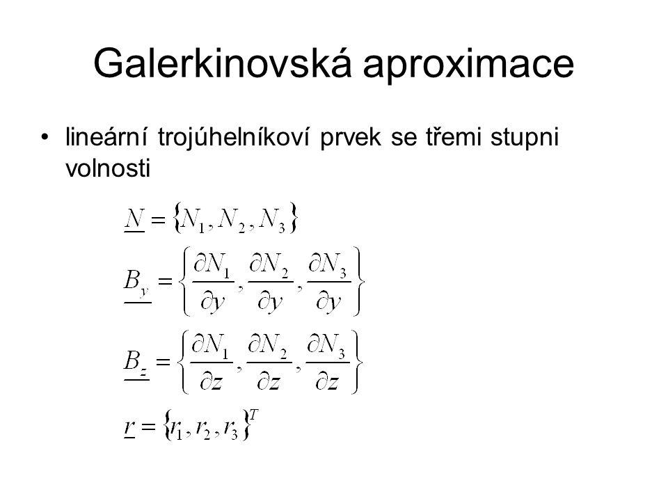 Galerkinovská aproximace