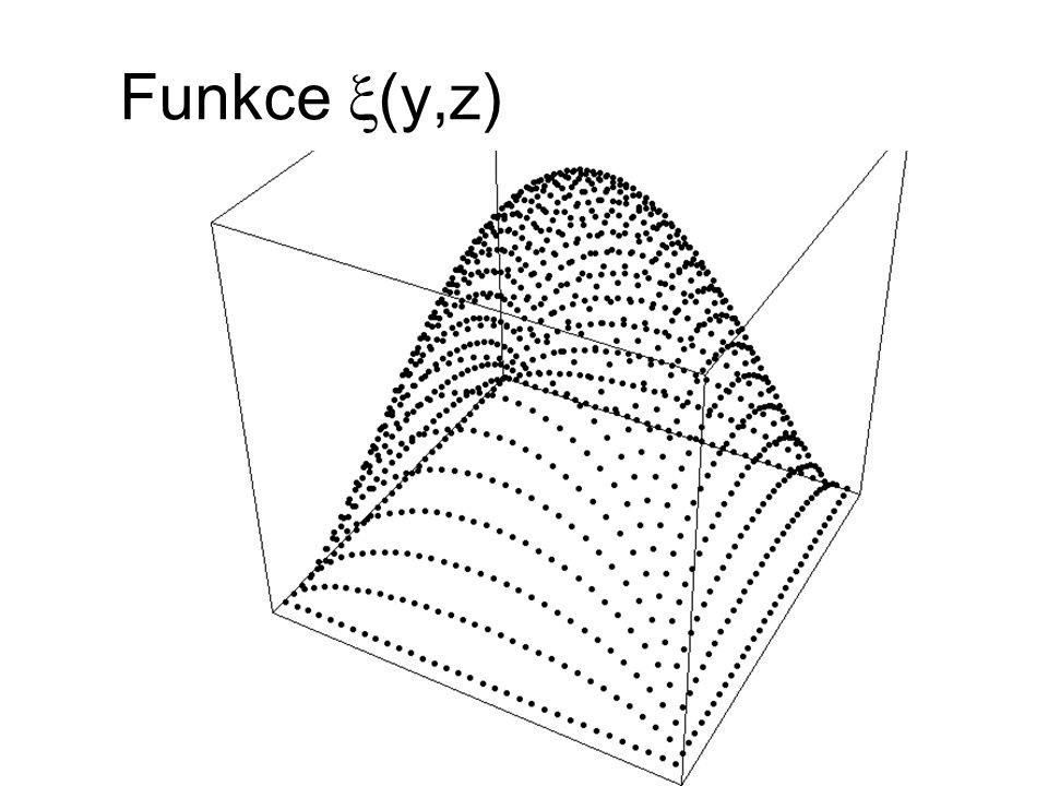 Funkce x(y,z)
