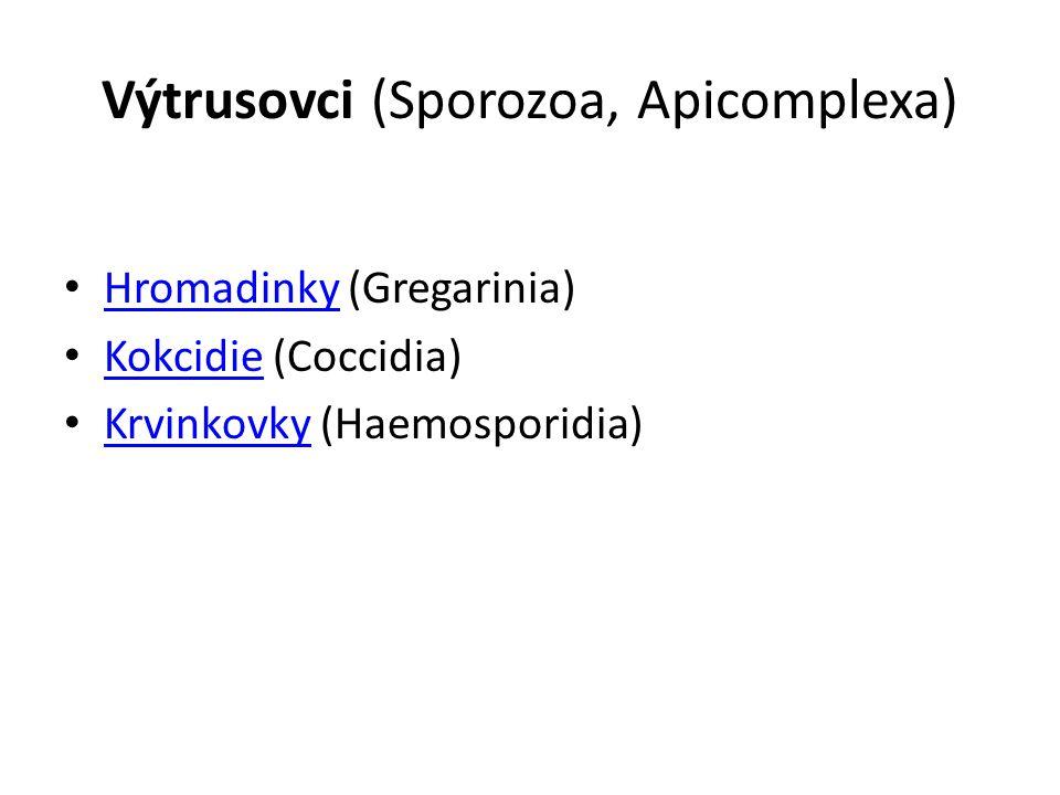 Výtrusovci (Sporozoa, Apicomplexa)