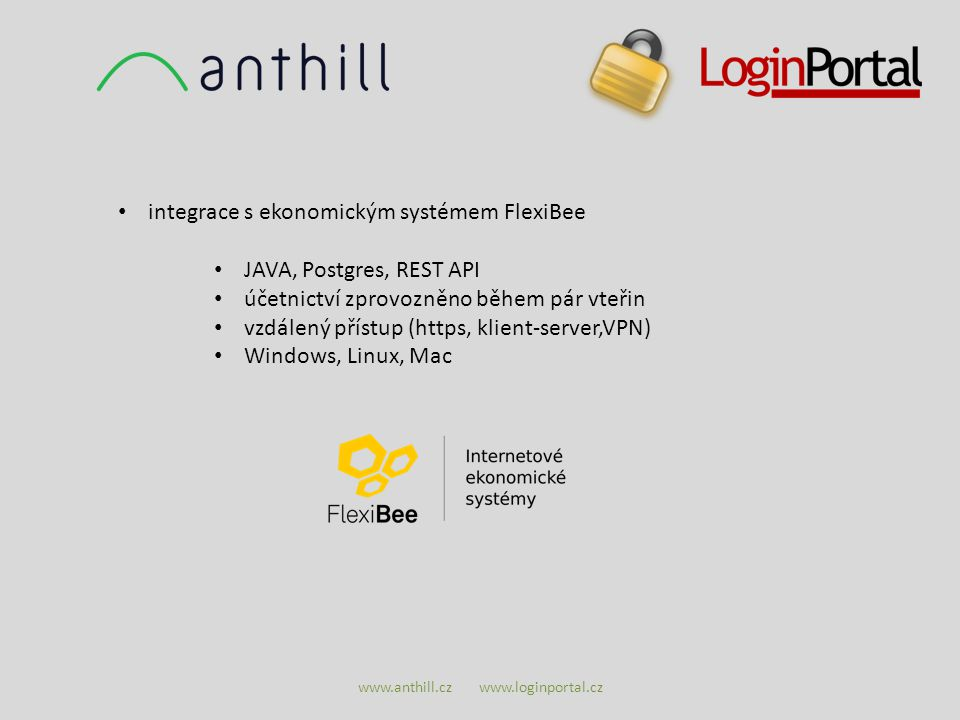 www.anthill.cz www.loginportal.cz