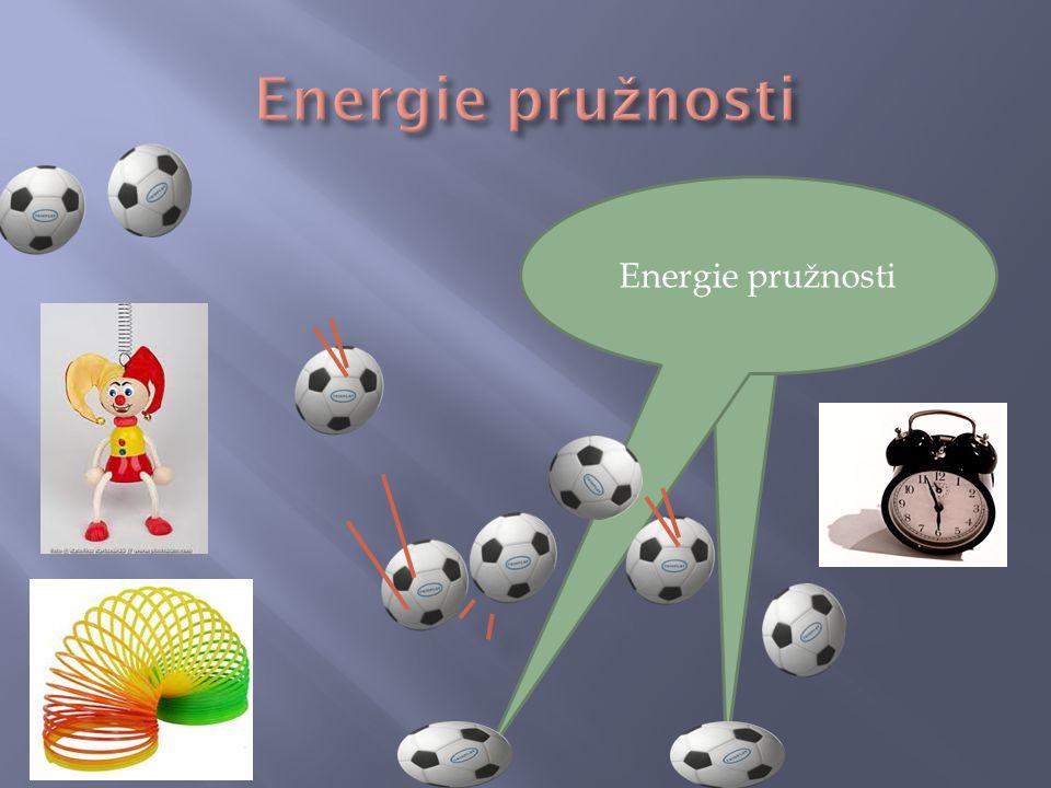Energie pružnosti Energie pružnosti Energie pružnosti