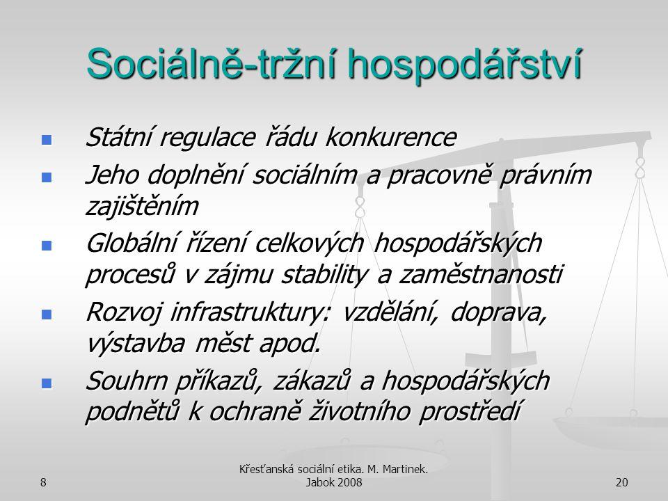 Sociálně-tržní hospodářství