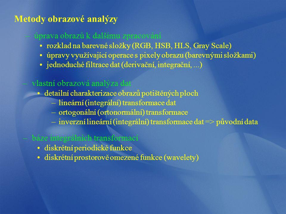Metody obrazové analýzy