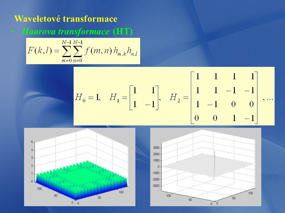Waveletové transformace