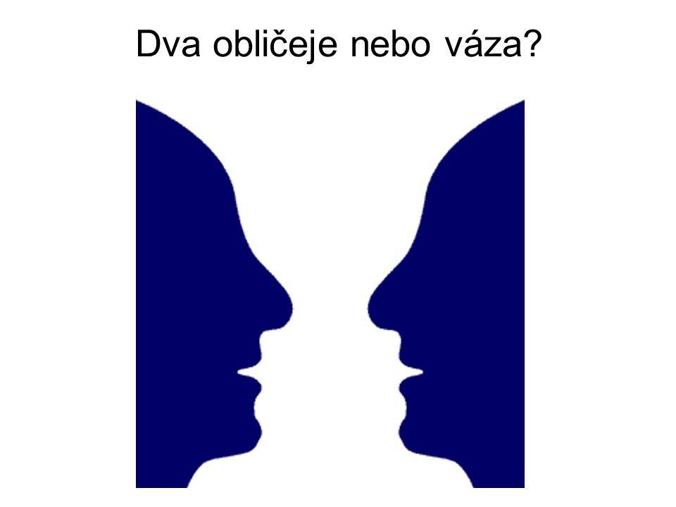 Dva obličeje nebo váza