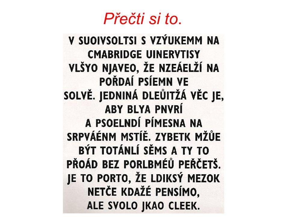 Přečti si to.