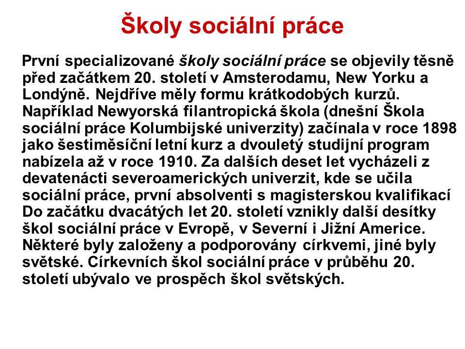 Školy sociální práce