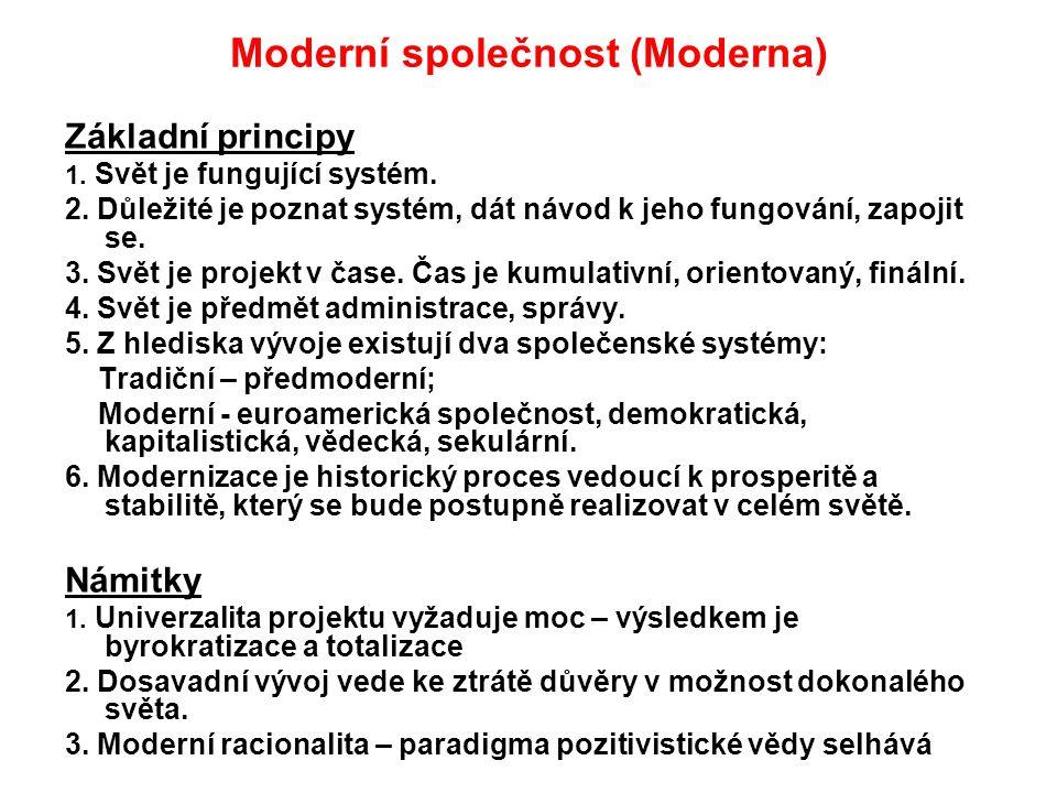 Moderní společnost (Moderna)
