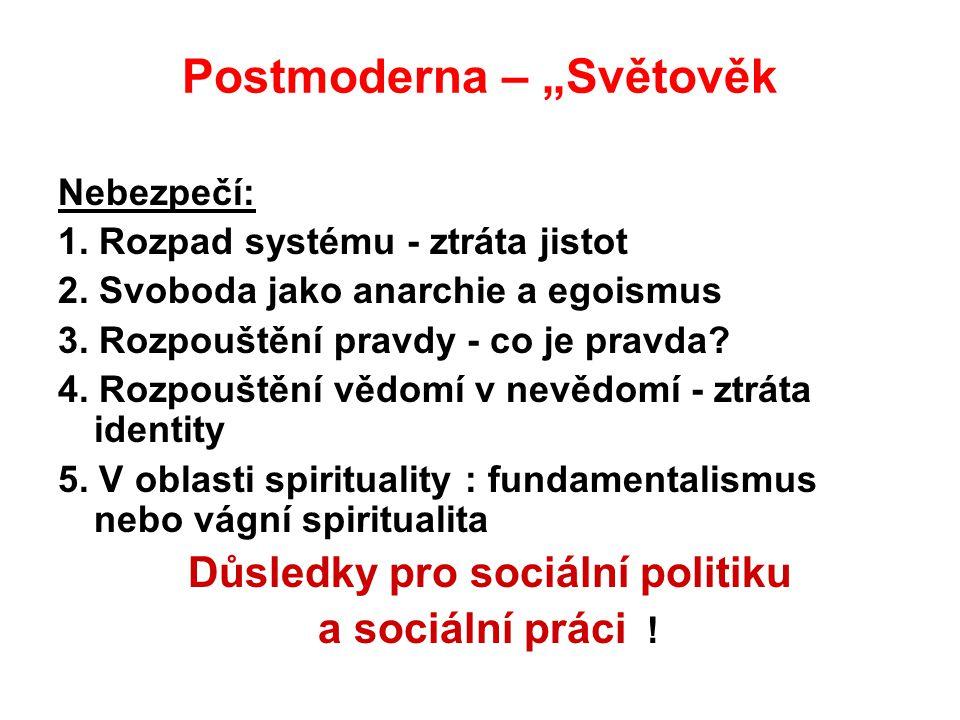 """Postmoderna – """"Světověk"""