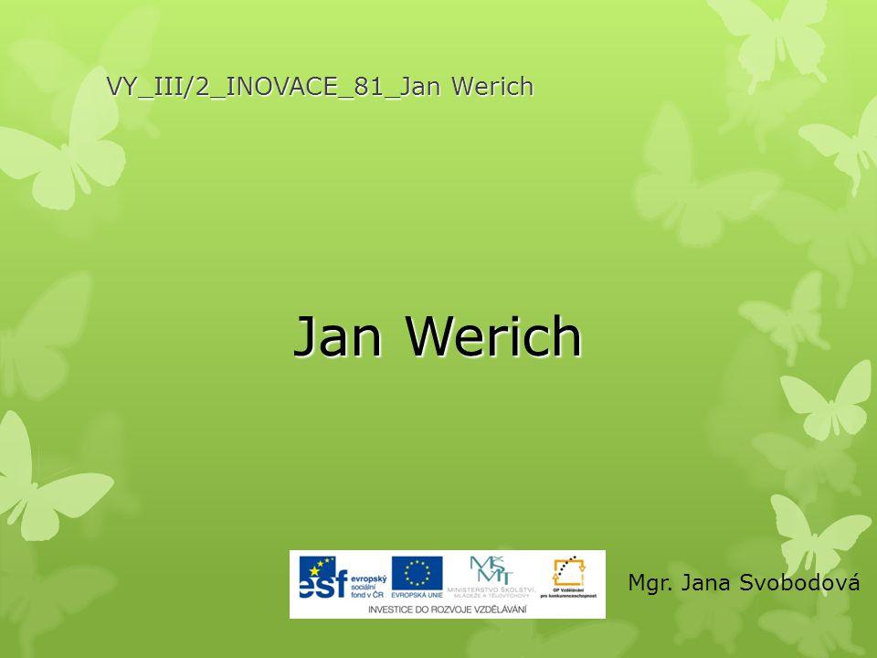 VY_III/2_INOVACE_81_Jan Werich