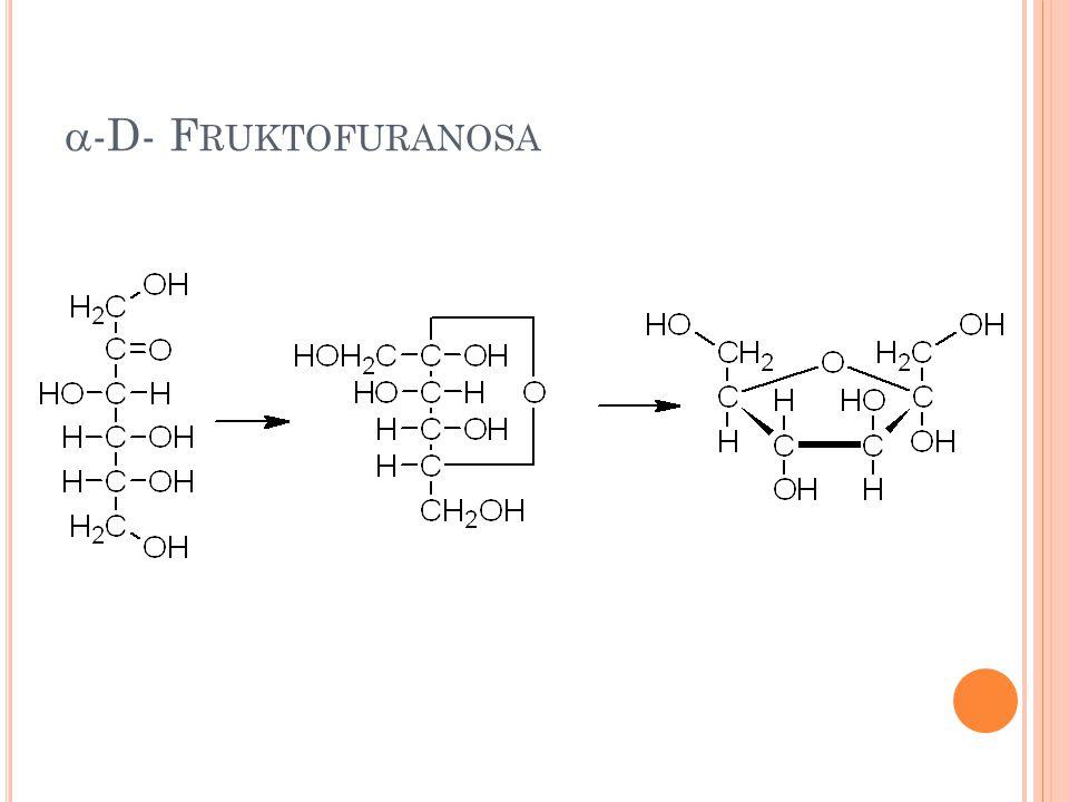 -D- Fruktofuranosa