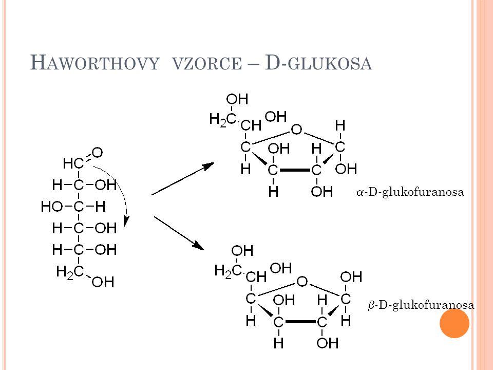 Haworthovy vzorce – D-glukosa