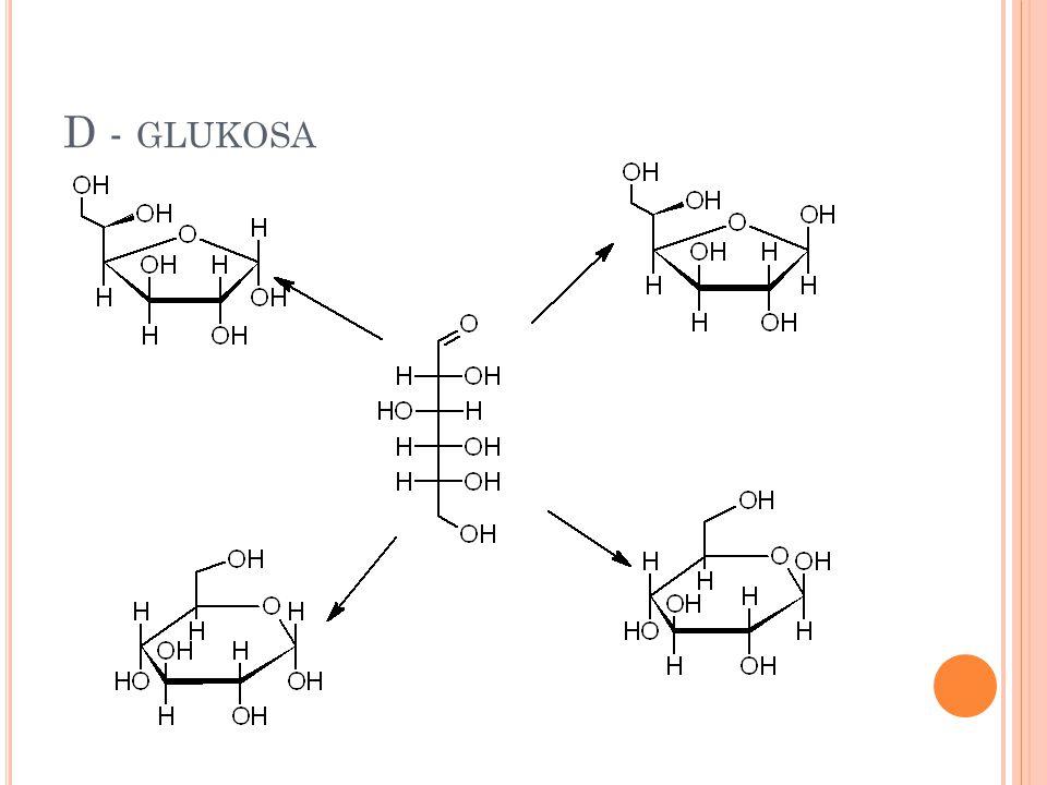 D - glukosa