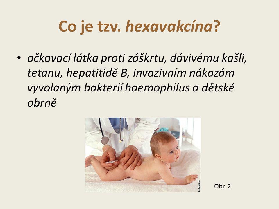 Co je tzv. hexavakcína