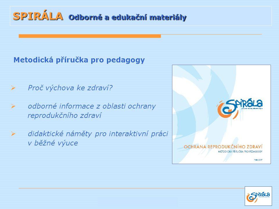 SPIRÁLA Odborné a edukační materiály
