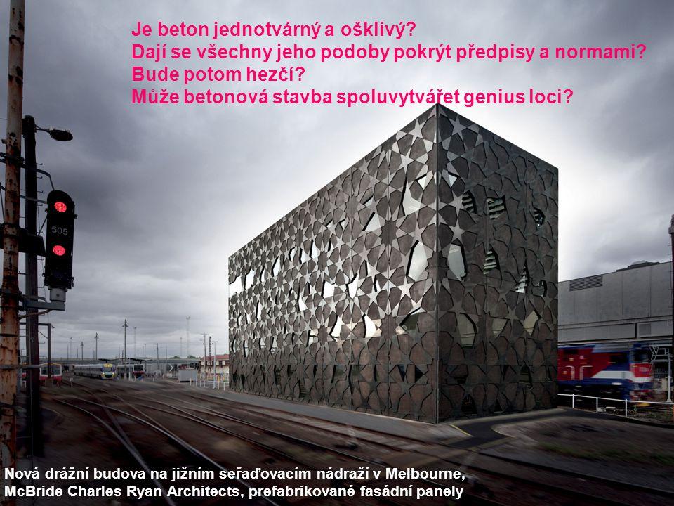Je beton jednotvárný a ošklivý