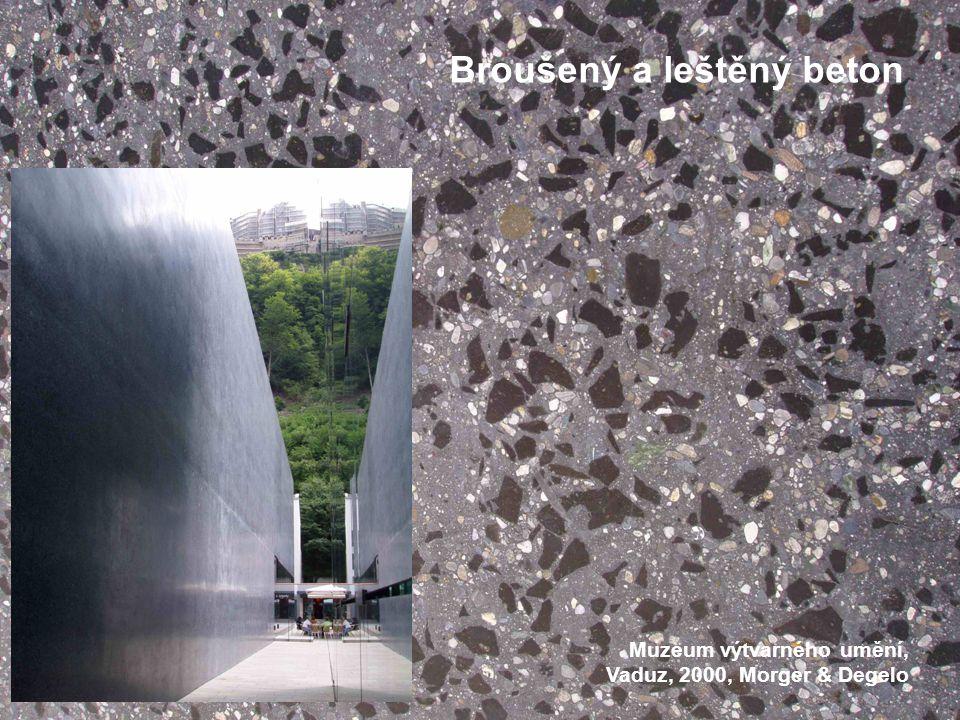 Broušený a leštěný beton