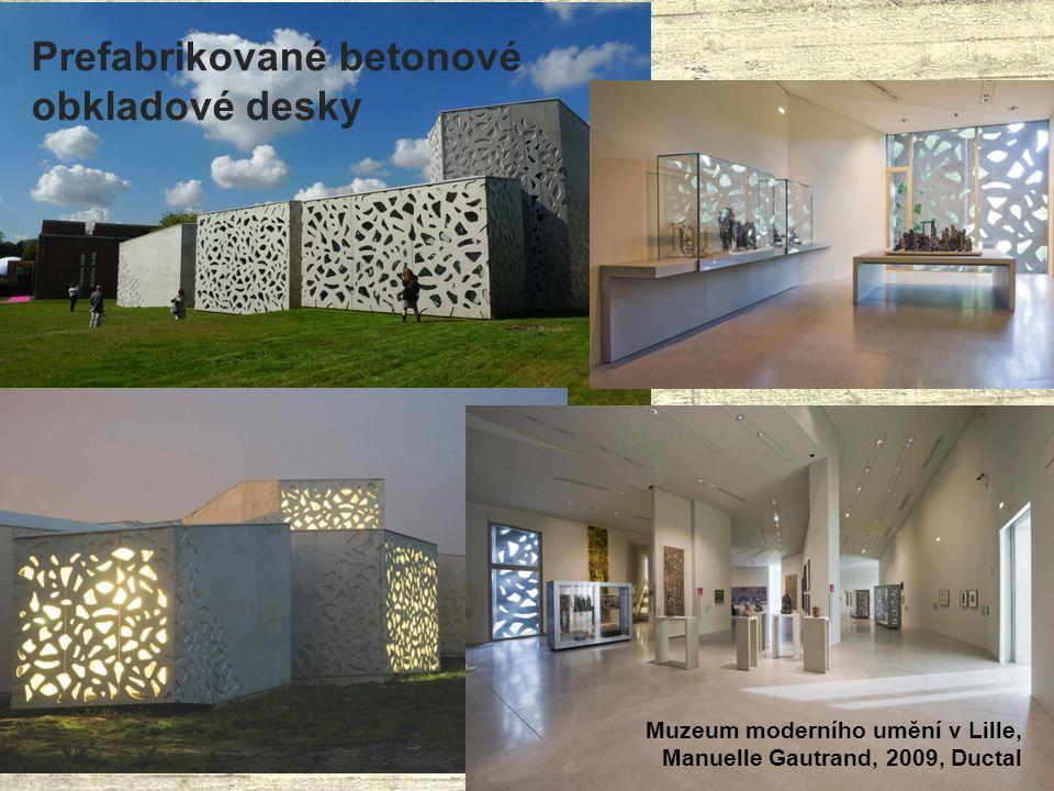 Prefabrikované betonové obkladové desky