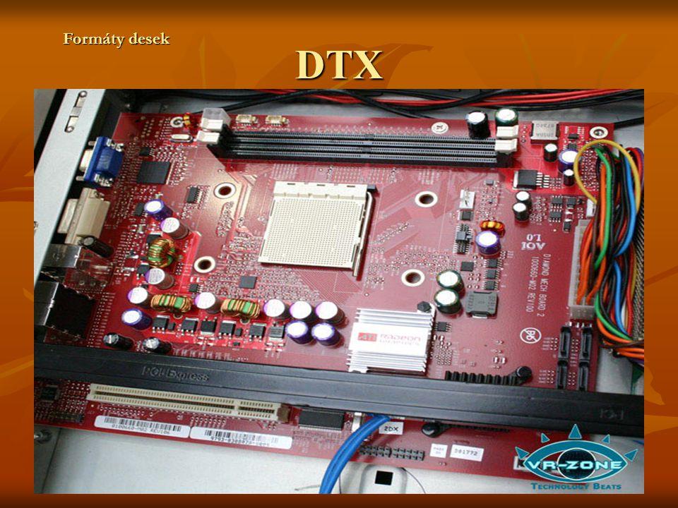 DTX Formáty desek