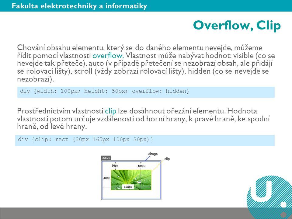 Overflow, Clip