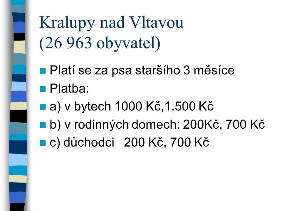 Kralupy nad Vltavou (26 963 obyvatel)