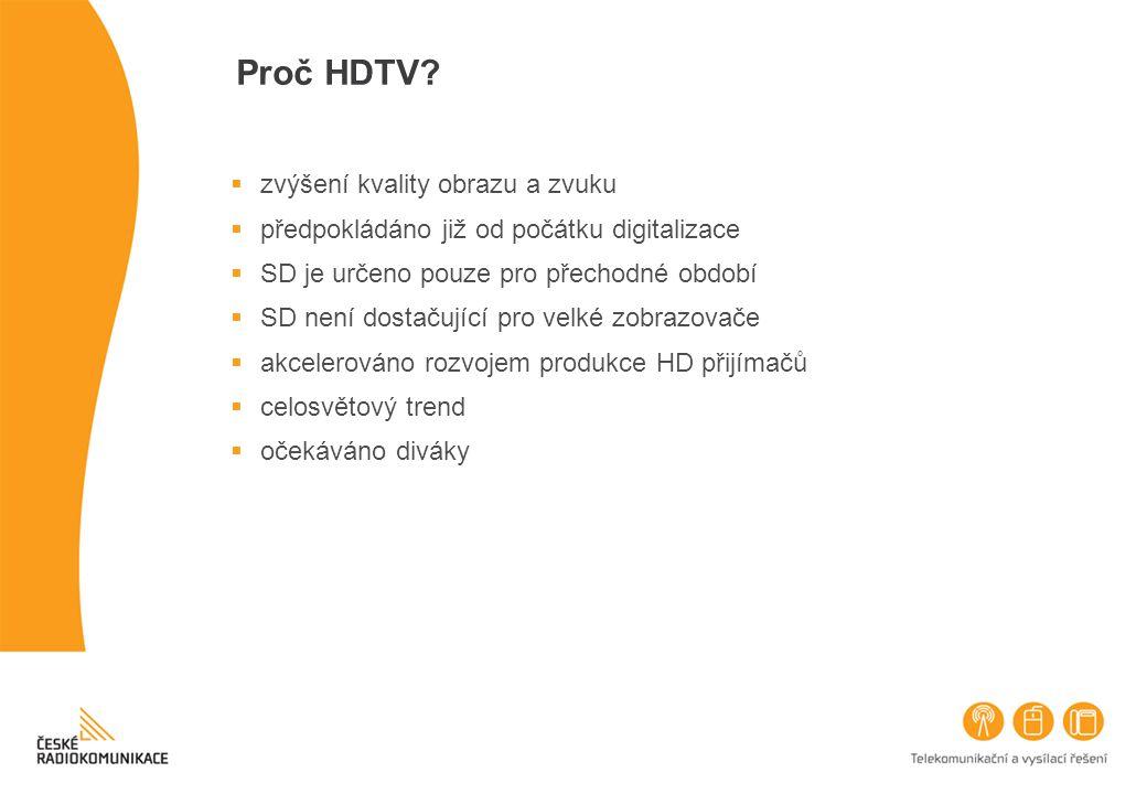 Proč HDTV zvýšení kvality obrazu a zvuku