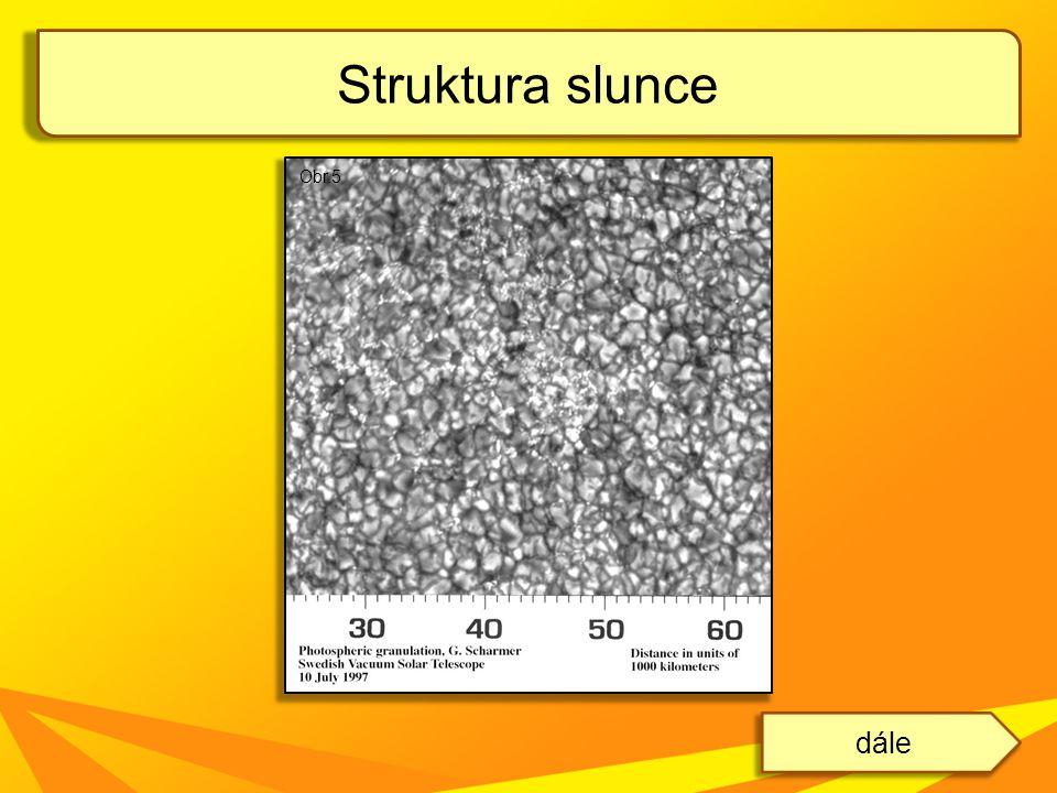 Struktura slunce Obr.5 dále