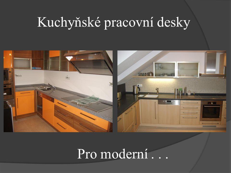 Kuchyňské pracovní desky