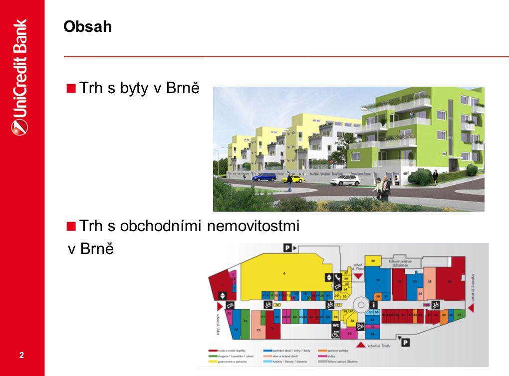 Obsah Trh s byty v Brně Trh s obchodními nemovitostmi v Brně