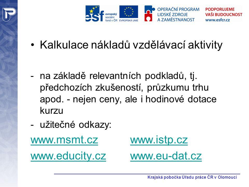 Krajská pobočka Úřadu práce ČR v Olomouci