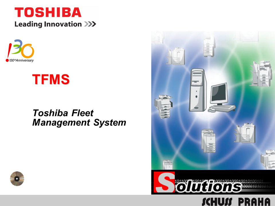 Toshiba Fleet Management System