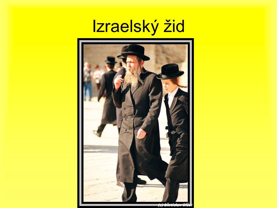 Izraelský žid