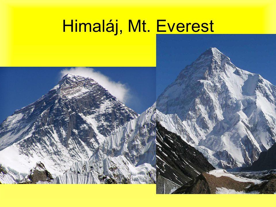 Himaláj, Mt. Everest