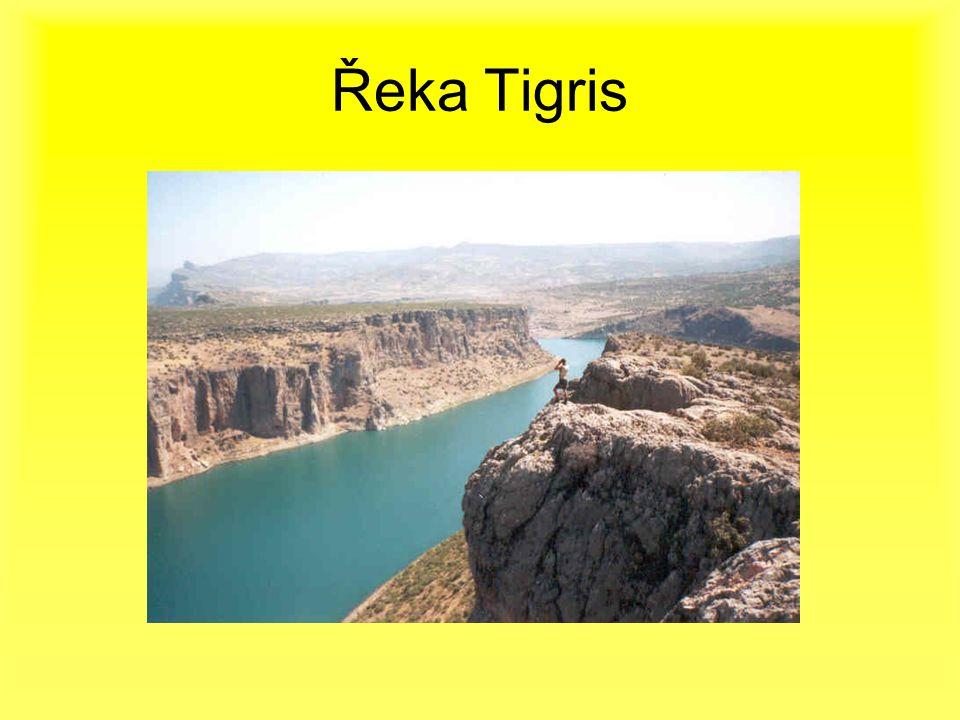 Řeka Tigris