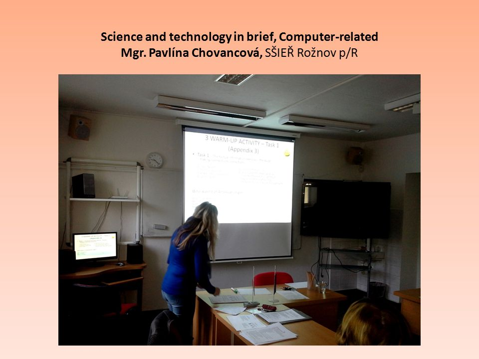 Science and technology in brief, Computer-related Mgr