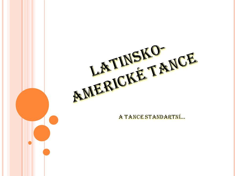 Latinsko-americké tance