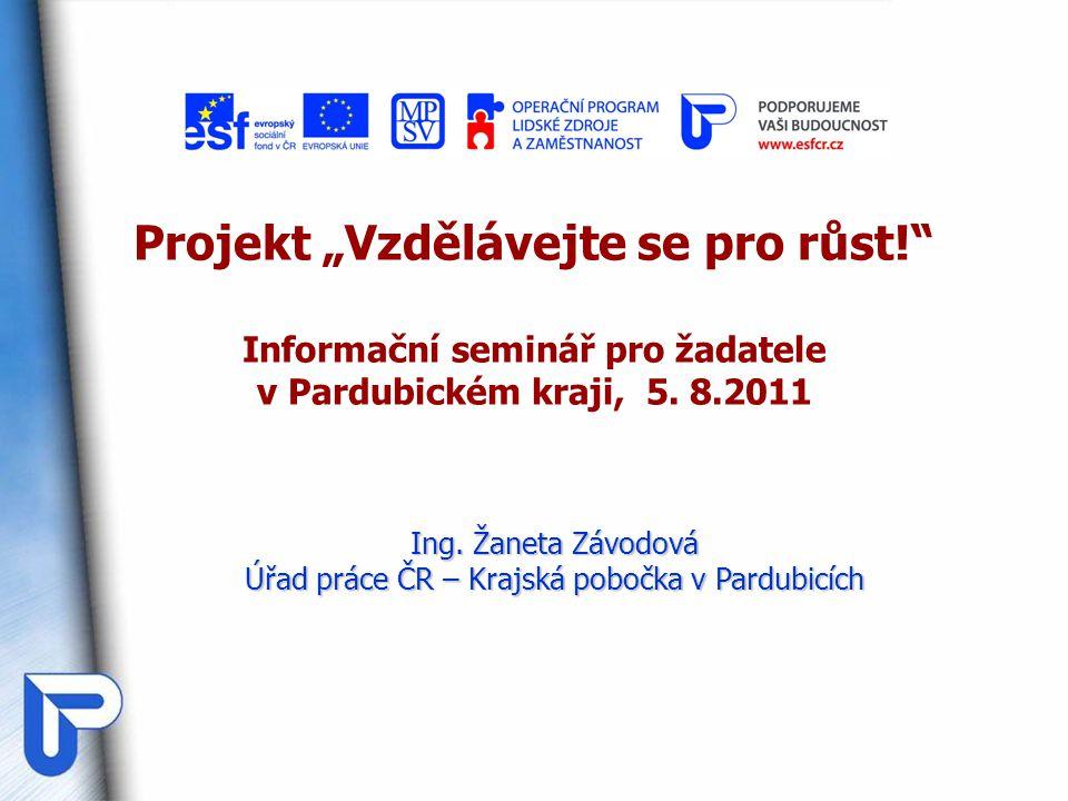 Úřad práce ČR – Krajská pobočka v Pardubicích