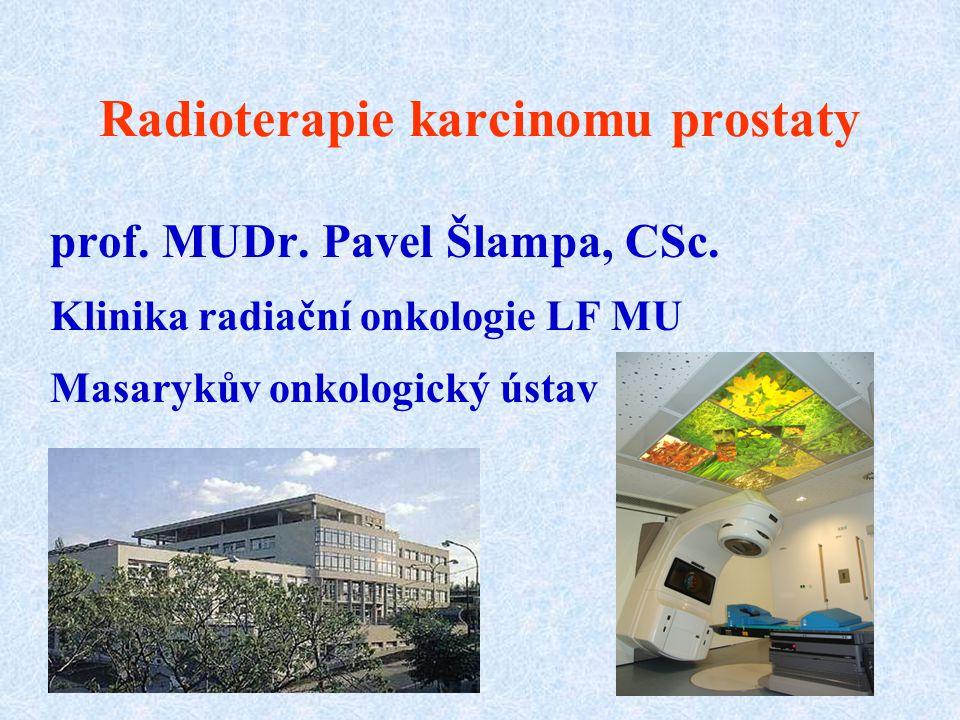 Radioterapie karcinomu prostaty