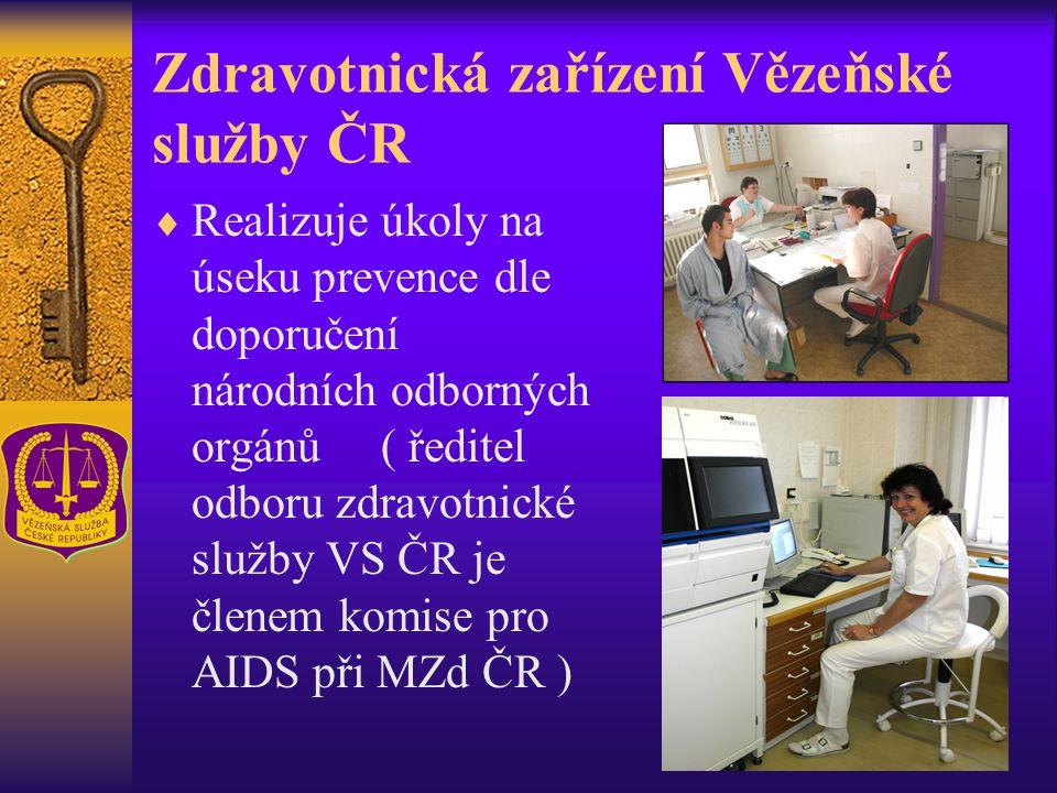 Zdravotnická zařízení Vězeňské služby ČR