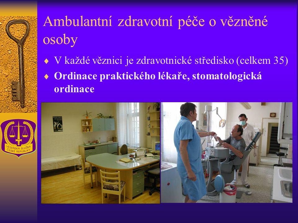 Ambulantní zdravotní péče o vězněné osoby