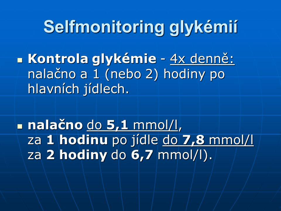 Selfmonitoring glykémií
