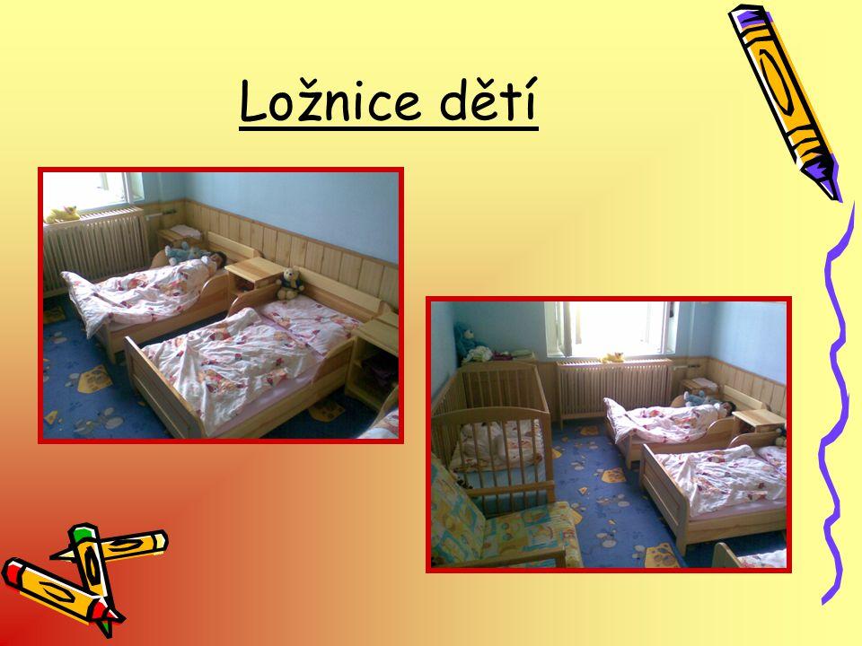 Ložnice dětí