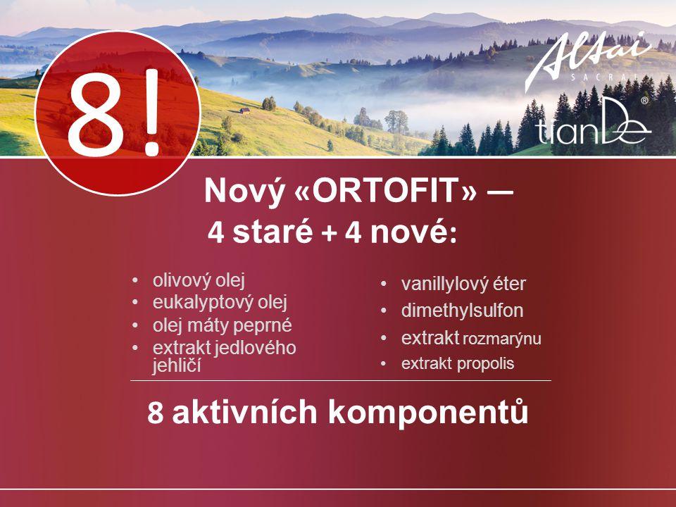 Nový «ORTOFIT» — 4 staré + 4 nové: