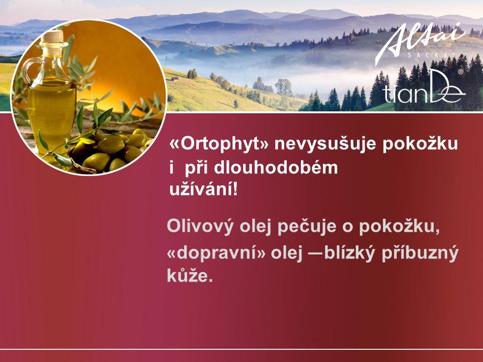 «Ortophyt» nevysušuje pokožku i při dlouhodobém užívání!