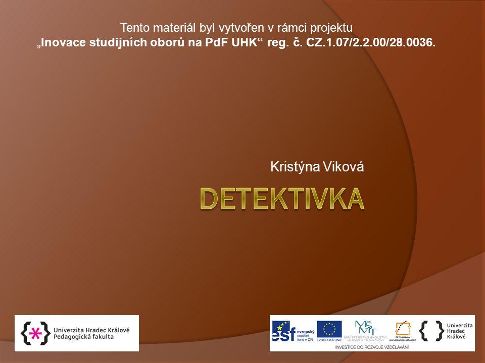 detektivka Kristýna Viková